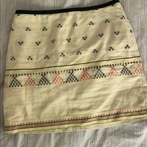 Madewell size 0 mini skirt